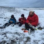 Frokost i sneen