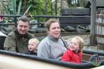 Familien Milther Uppdal i Legoland