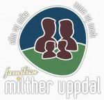 Familien Uppdal's logo anno 2008-08-06